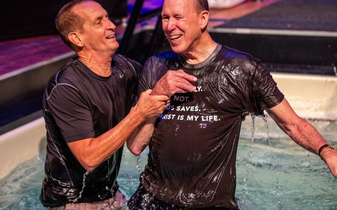 Why I Was Baptized in My 70s